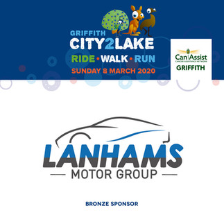 city2lake sponsor - bronze - lanhams mot