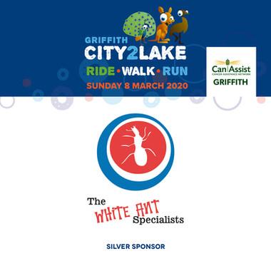 city2lake sponsor - silver - the white a