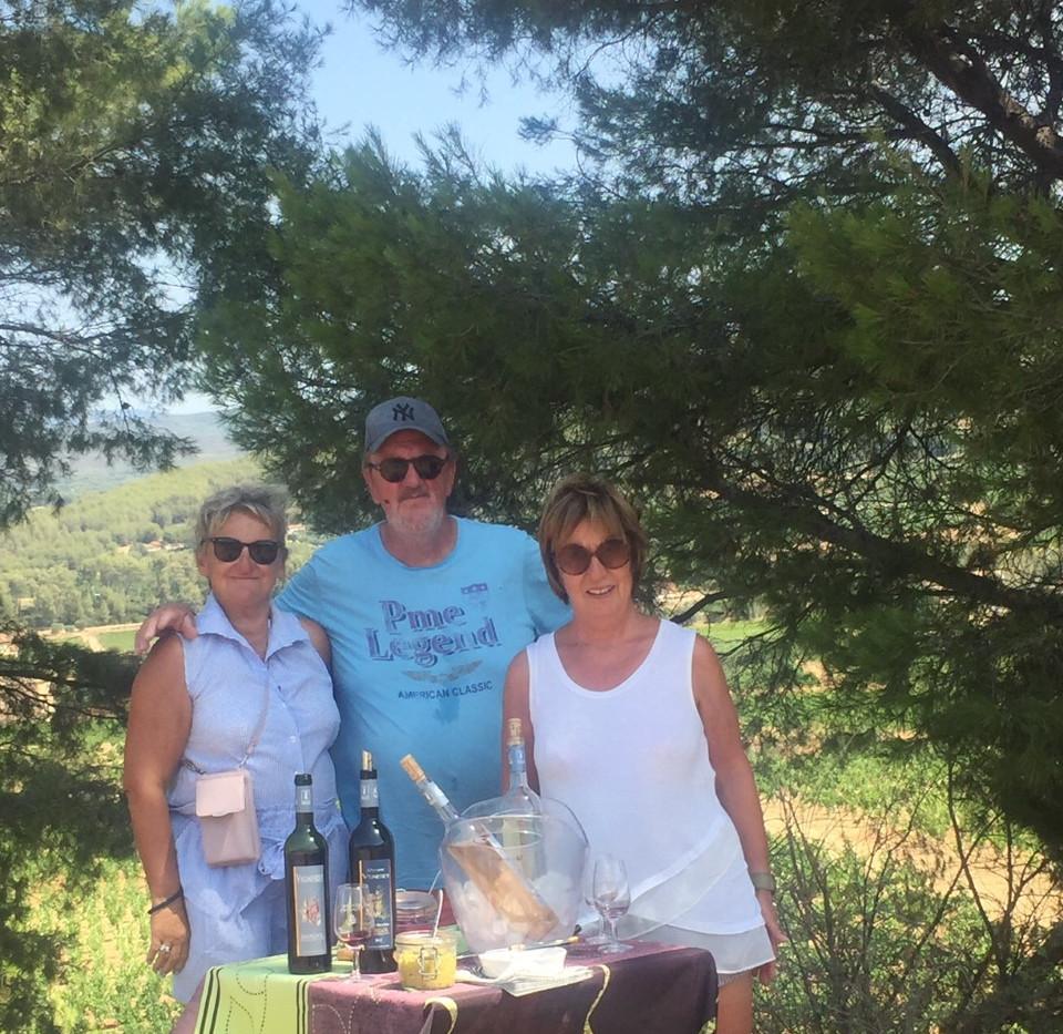Dégustation champêtre sur les hauteurs de la Cadière d'azur
