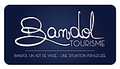 LOGOTYPE FOND BLEU BORDS BLANCS BANDOL.j