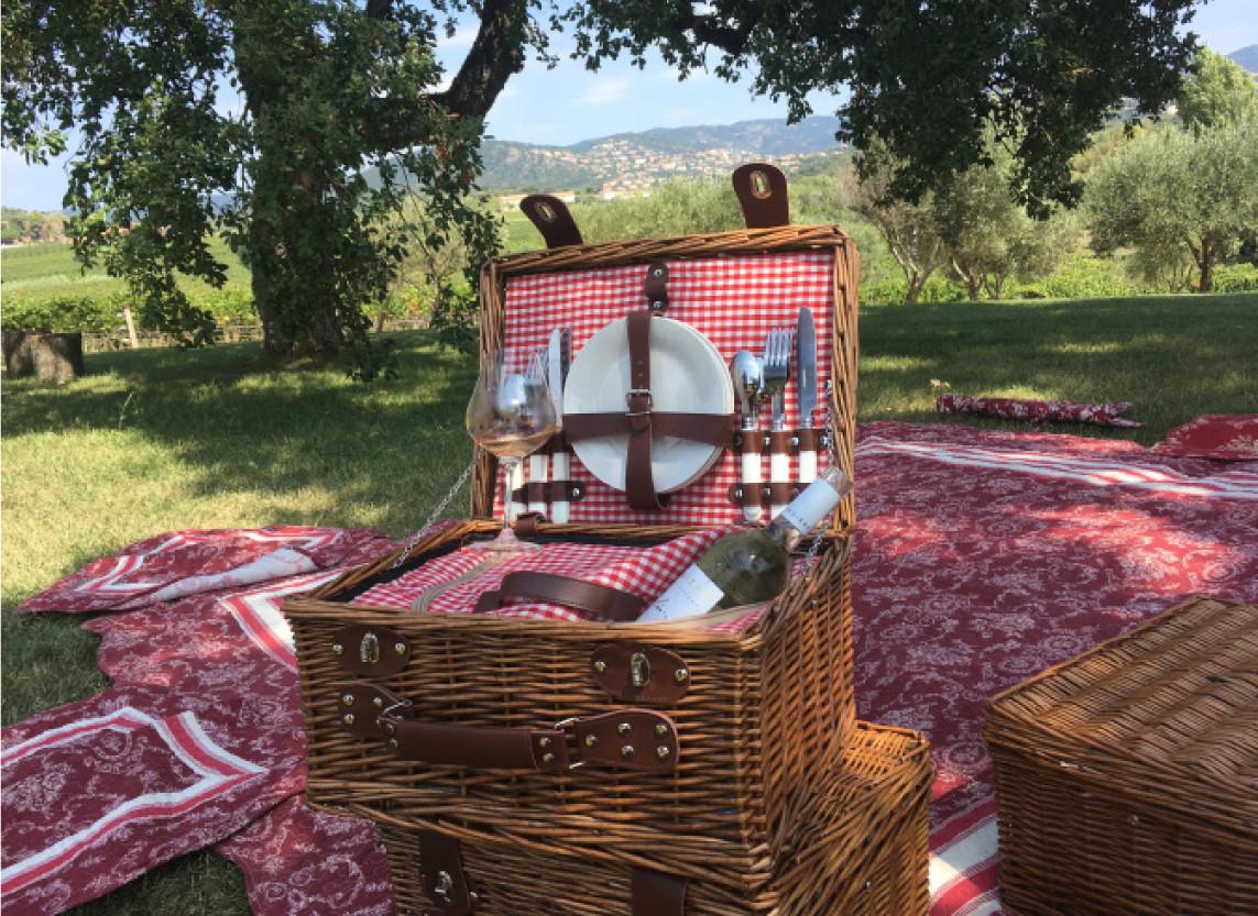 Pique-nique dans les vignes - la Londe-les-Maures