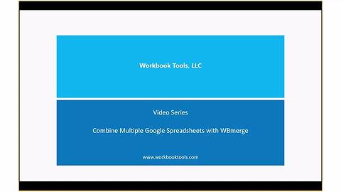 Combine Google Spreadsheets