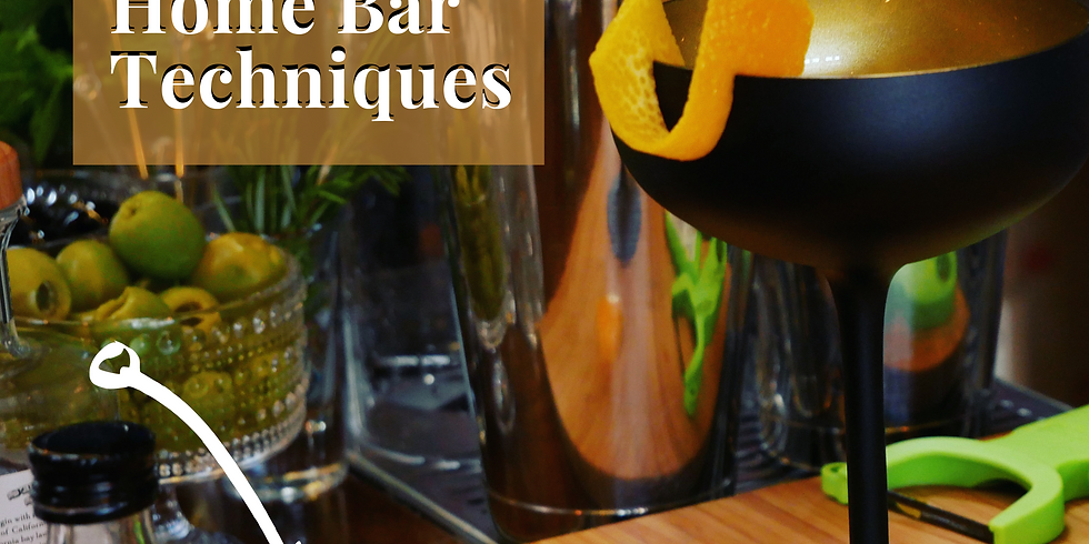 Essential Home Bar Techniques