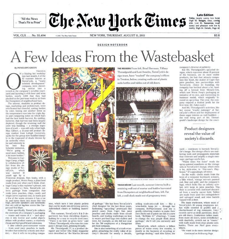 NY Times 2011