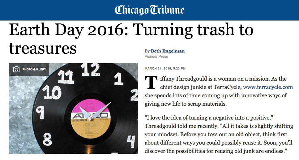 Chicago Tribune April 2016