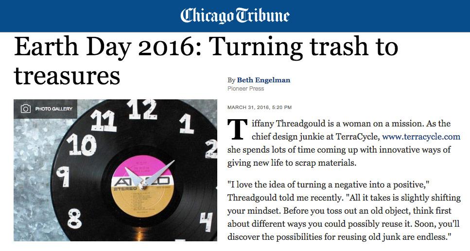 Chicago Tribune April 2016