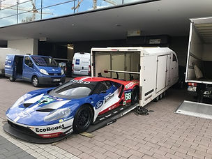 Ford Race Car Transport