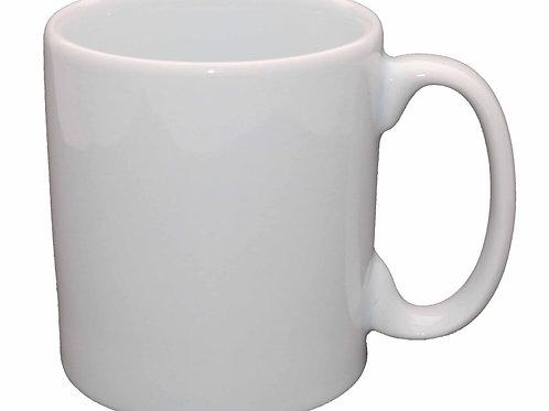 Kit com 12 caneca  com 300 ml em porcelana
