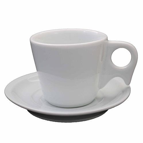 12 xícara com pires café pirâmide 70 ml