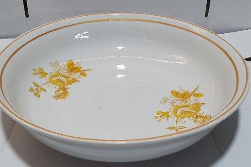 Bacia grande em porcelana  medida 35,5 5 litro