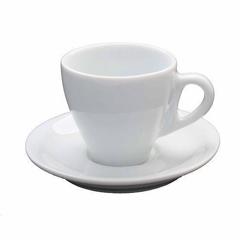 Jogo 24 xícara para cha com pires  e 50 xícara para cafe com pires