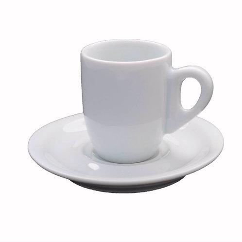 24 xícara para café com Pires Gênova de 80 ml