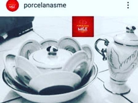 Igba mini com 11 peças porcelana legítima