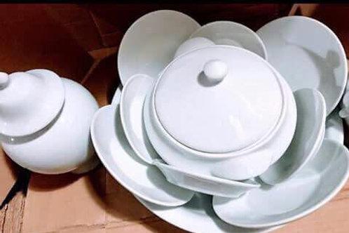 Igba branco com 11 peças promoção