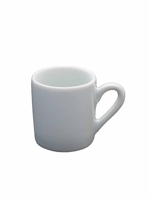 12 xícara sem pires em porcelana