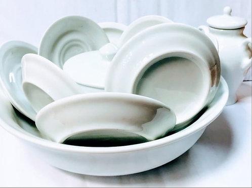 Igba mini branco 11 pecas porcelana
