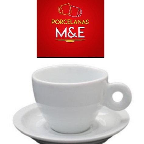 12 xícaras para cafe com pires 70 ml