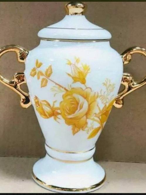 Quartinha oxum 19x8 cm.porcelana