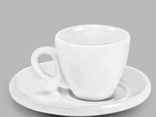 12 xícara Para Café com Pires  70 ml