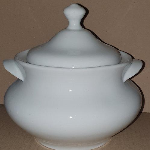 Sopeira grande branca de 4150 ml porcelana