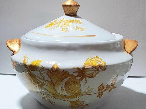 Sopeira oxum com quartinha  porcelana
