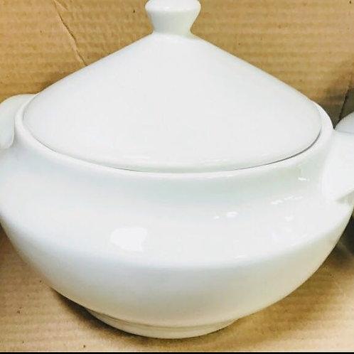 Sopeira branca 3150 ml em porcelanas