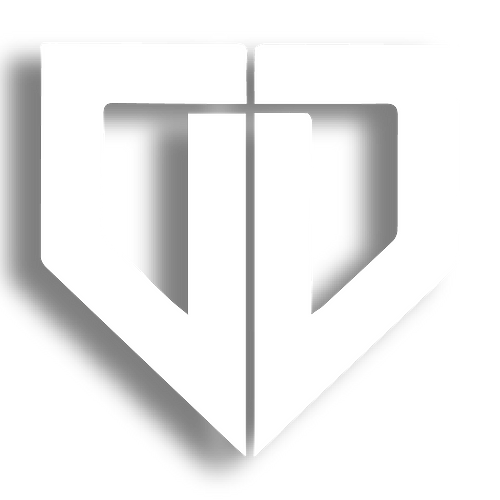 double d logo - white with drop shadow-0