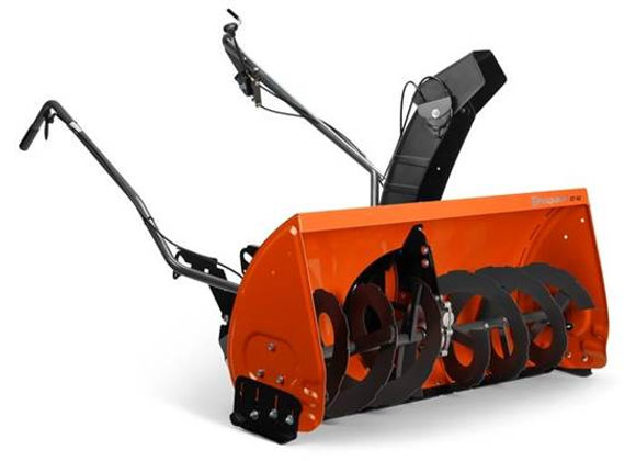 "2019 42"" Snow Thrower Attachment with Electric Lift - Husqvarna"