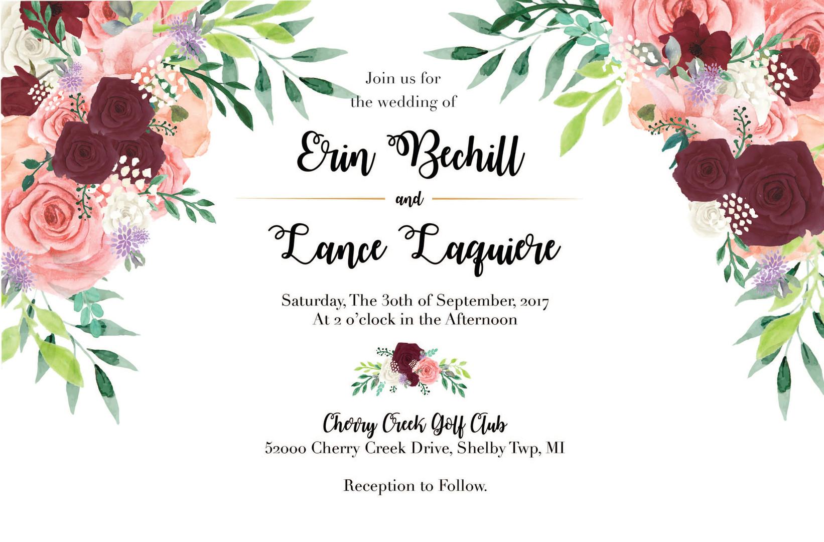 Bad Bunny Design | Wedding Invites