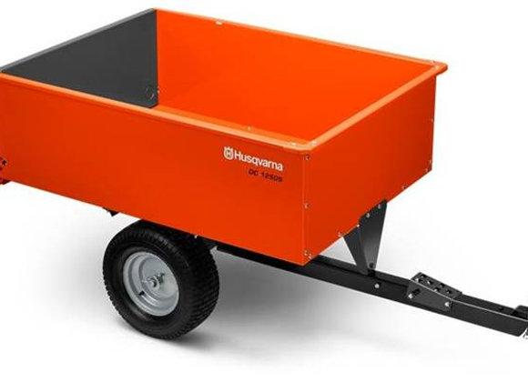 2020 16 Cu. Ft. Steel Swivel Dump Cart - Husqvarna