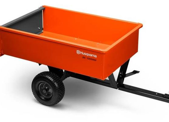 2019 12' Welded Steel Dump cart - Husqvarna