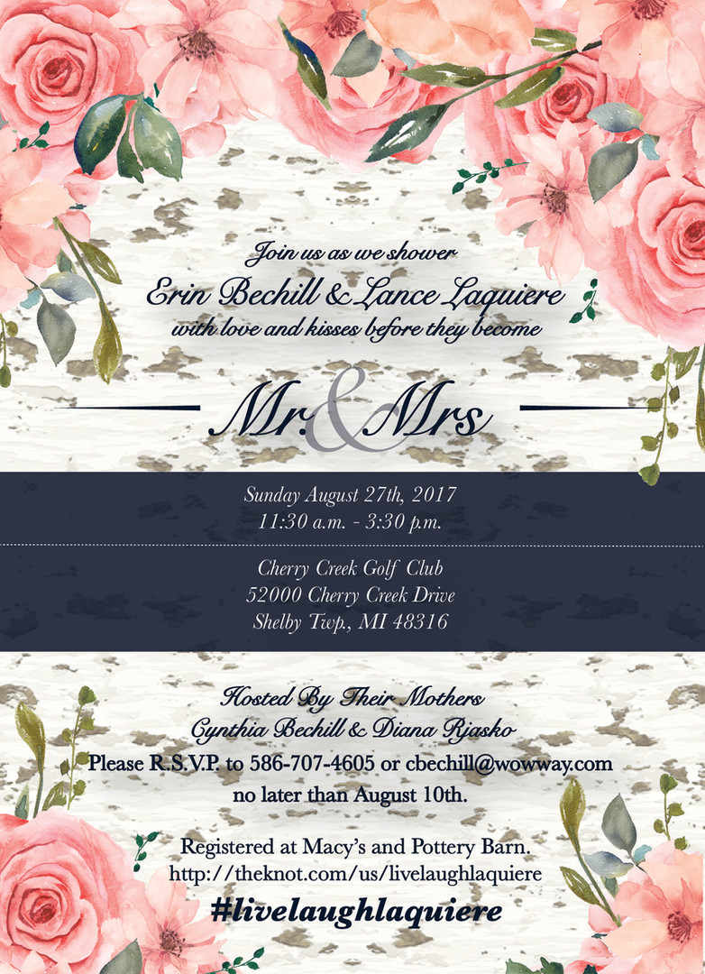 Bad Bunny Design | Wedding Invitation