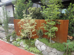 和モダンなガーデン 癒しの空間 熊本市