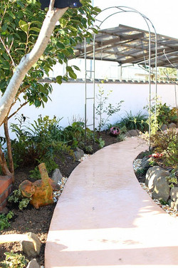 ガーデンリフォーム 花壇植え替え 久留米市