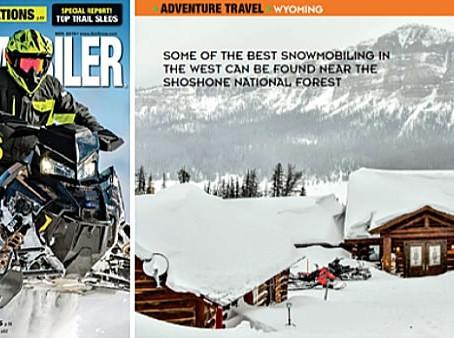 American Snowmobiler Puts Brooks Lake Lodge on 'Bucket List' for Sled Heads