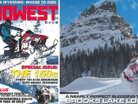 "Snowmobile Magazine Boasts ""Nearly Perfect Sledding Trip to Brooks Lake Lodge"""
