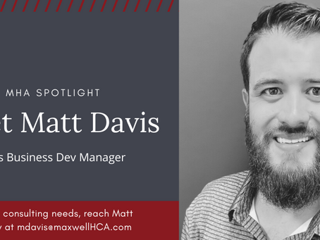 Meet Matt Davis--He's a Second Generation Home Health and Hospice Professional