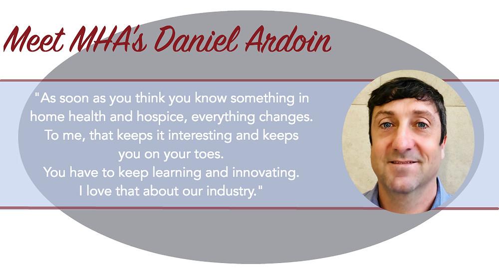 home health and hospice consultant daniel ardoin