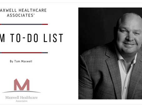 Time is Ticking--Here's Tom's PDGM To-Do List