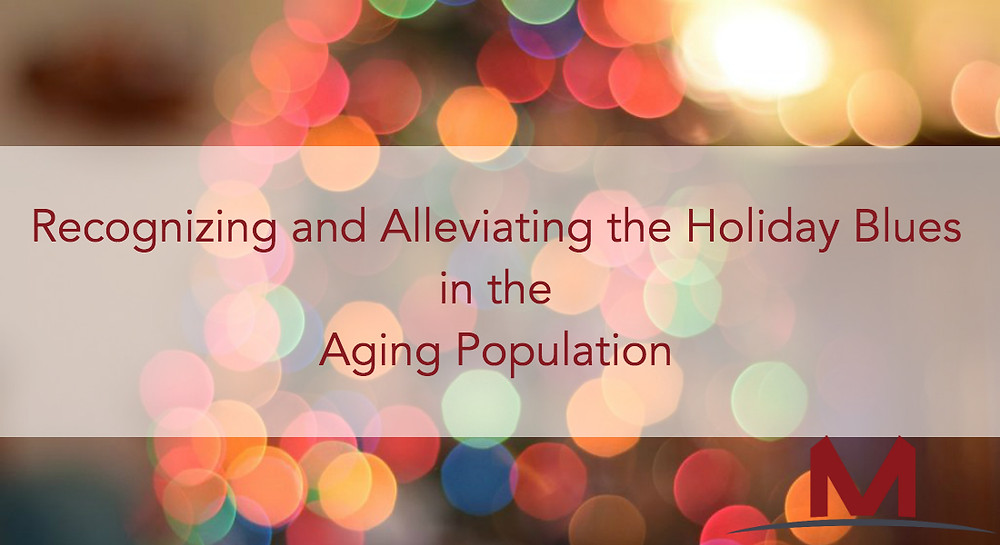 holidays blues in the aging population