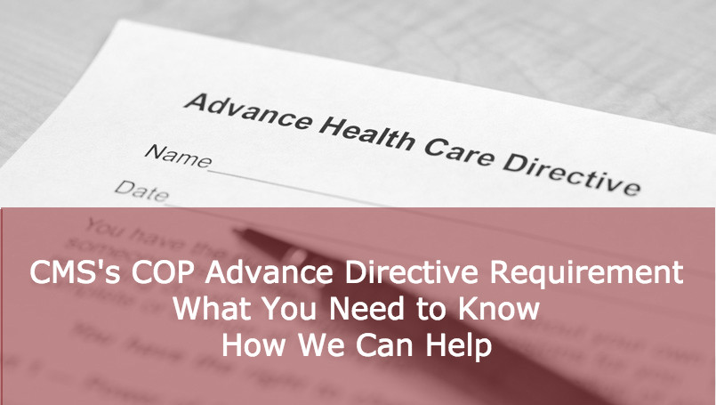 CMS's Home Health COP Advance Directive Requirement