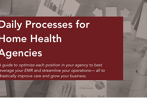Daily Processes to Optimize Each HCHB Process in your Home Health Agency