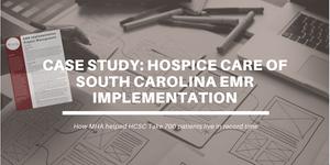 hospice EMR implementation case study