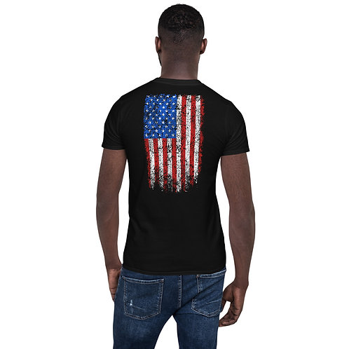 American Flag ISA Short-Sleeve Unisex T-Shirt
