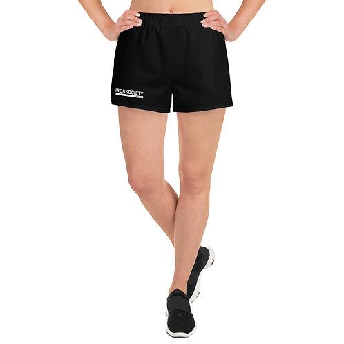 Iron Society Athletics Printed Women's Athletic Short Shorts