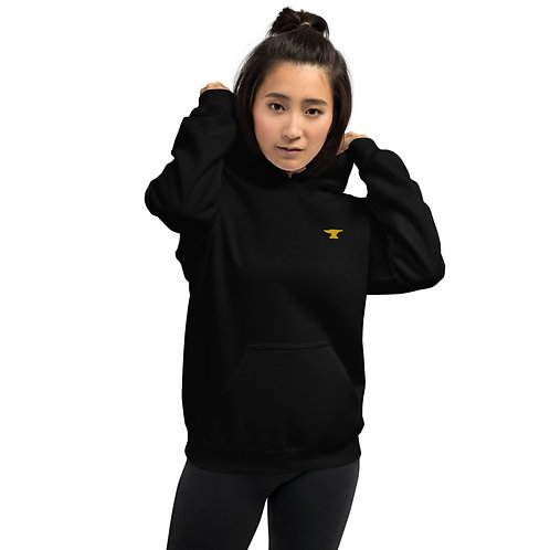 Anvil Embroidered Unisex Hoodie