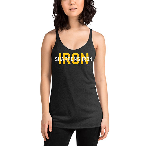 Iron Sharpens Iron Women's Racerback Tank