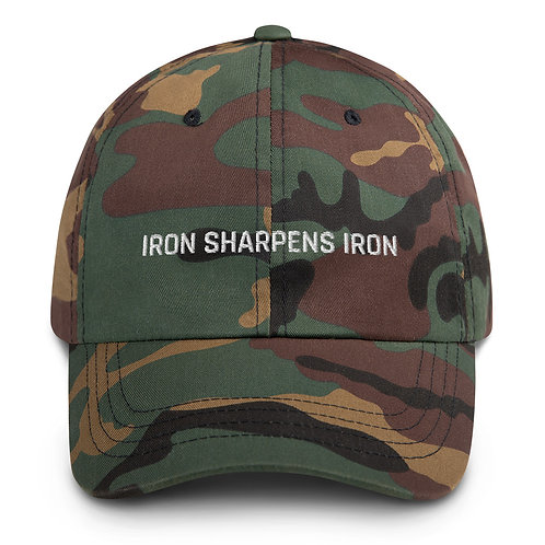 "IRON SHARPENS IRON ""Dad"" Hat"