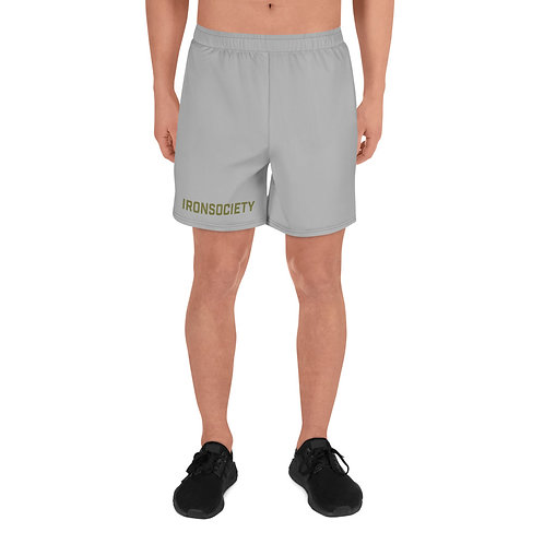 Iron Society Men's Athletic Long Shorts