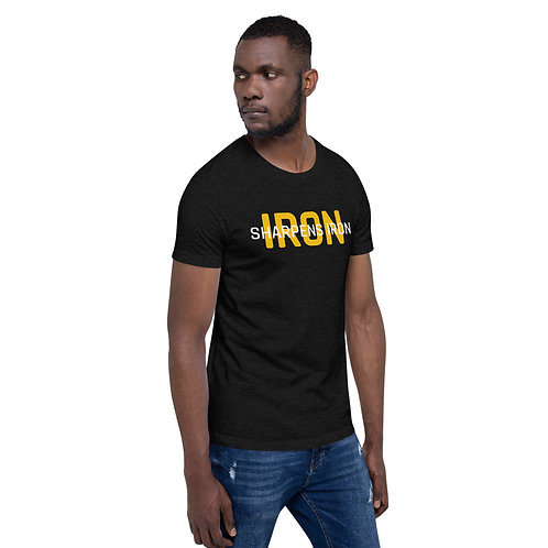 Iron Sharpens Iron Short-Sleeve Unisex T-Shirt